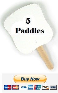 $20 for 5 Paddles